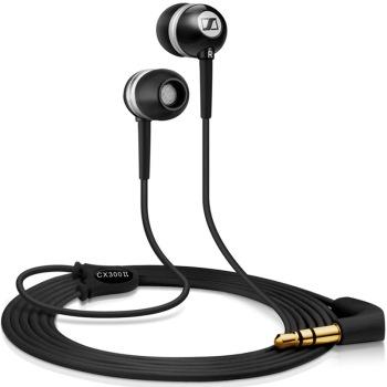 Sennheiser CX300-II Black 入耳式立体声耳塞